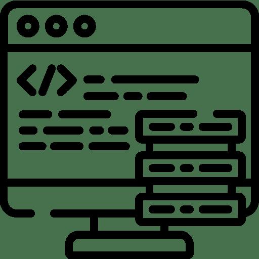 Development Services Icon | web development services | Genrk Business Solutions Services
